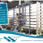 The OMND Water Treatment Plant uses state-of-the-art reverse osmosis and ultrafiltration to treat the water.