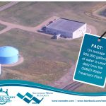 On average 800,000 gallons of water is used daily from the OMND Water Treatment Plant.