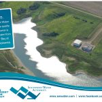 Southwest Water Authority's quality water source is surface water from Renner Bay at Lake Sakakawea.