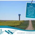 Southwest Water Authority has 21 reservoirs that range in sizes from 200,000 gallons to 6 million gallons.