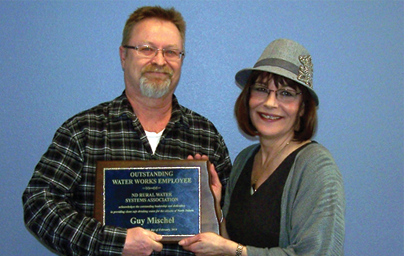 Guy Mischel Awarded 2014 Outstanding Water Works Employee