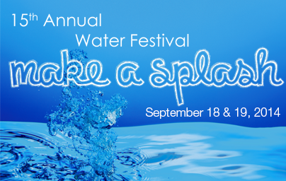 'Make A Splash' Water Festival