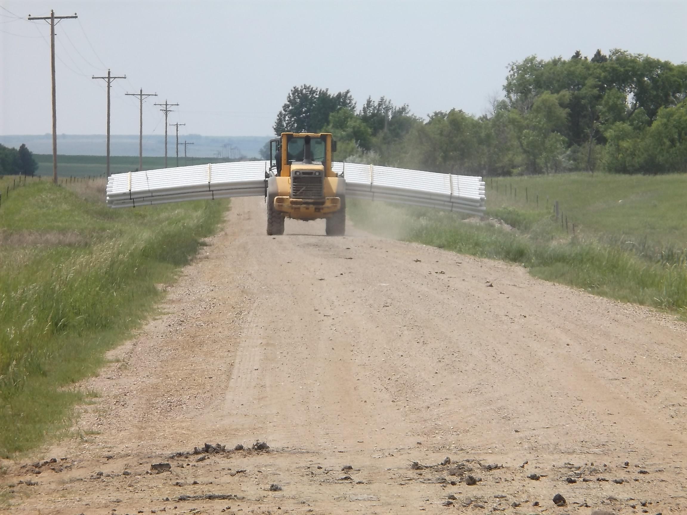 Contract 7-9E rural construction