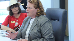 Senator Heidi Heitkamp at SWA