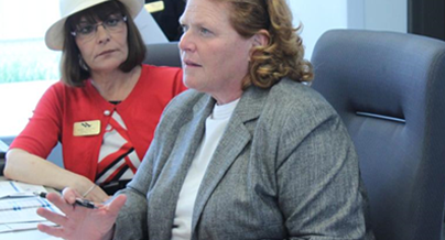 Heitkamp decries Army Corps for water charges: Senator: 'We have to bring the promise of water to those who wait'