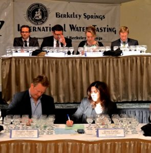 Water Tasting Contest Judges