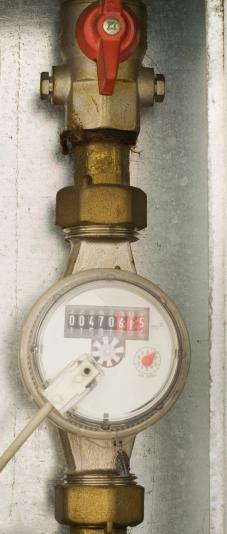 water meter hookup